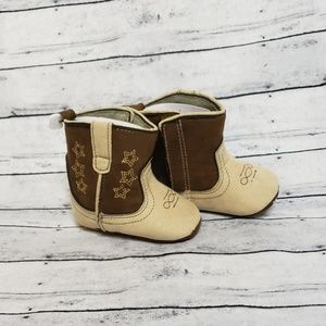 NWT Rising Star Cowboy Booties 3-6 Months Size 1